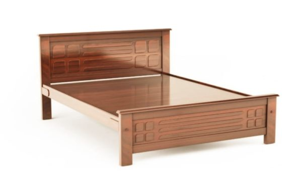 Tate Qween Sized Bed By BedX Teakwood Finished