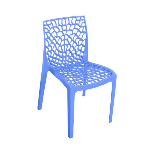Spider Designer Chair- Blue