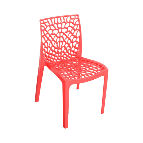 Spider Designer Chair Red