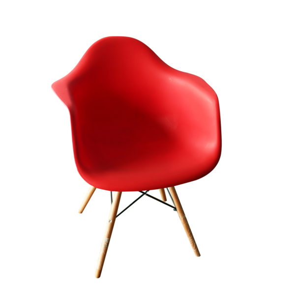 Baker Red Casual Chair