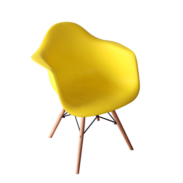 Baker Yellow Casual Chair