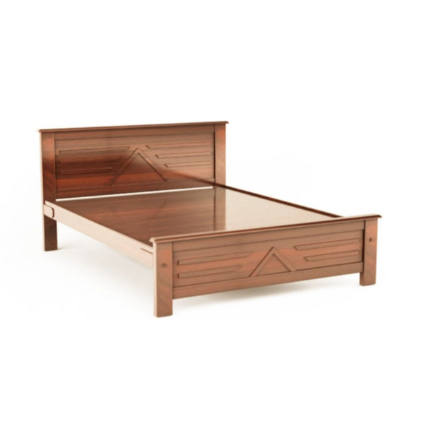 Mehn Qween Sized Bed By BedX teakwood finished