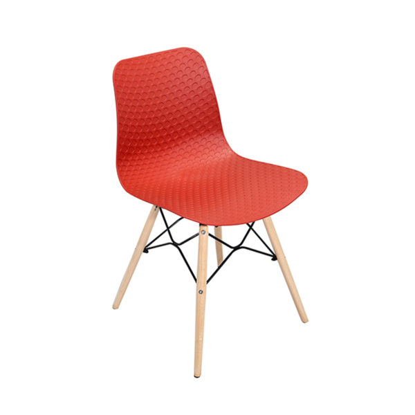 Ryan Cafe Chair Red By Skye Interio