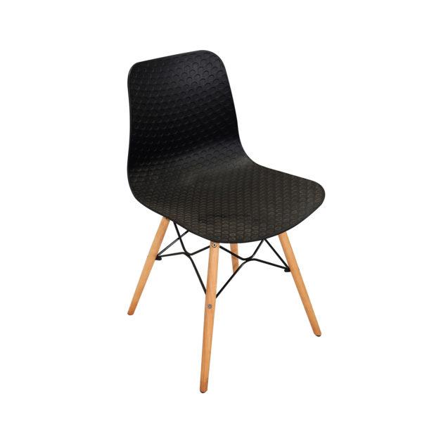 Ryan Cafe Chair Black By Skye Interio