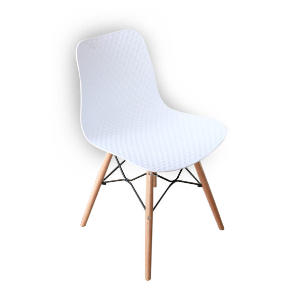 Ryan Cafe Chair White By Skye Interio