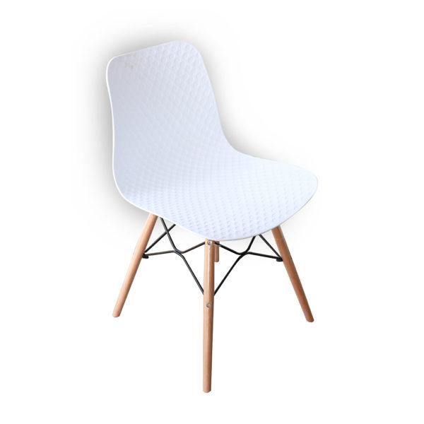Ryan Cafe Chair White By Skye Interio
