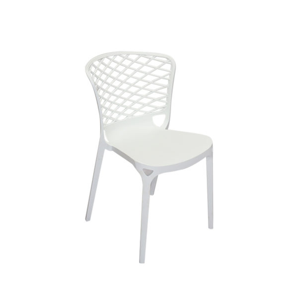 Porter Cafe Chair White by Skye Interio