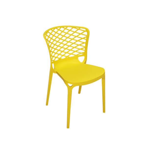 Porter Cafe Chair Yellow by Skye Interio
