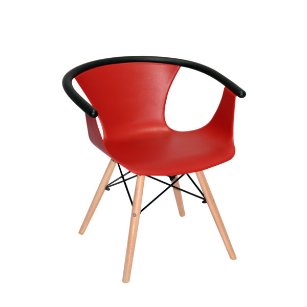 Clay Red Casual Chair
