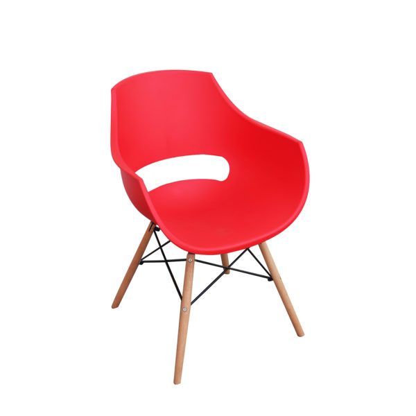 Bryce Casual Chair Red