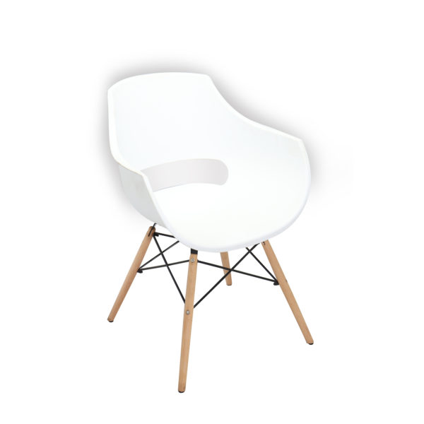 Bryce Casual Chair White