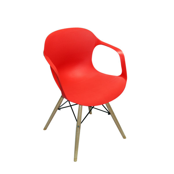 Sheri Casual Chair Red by Landford.