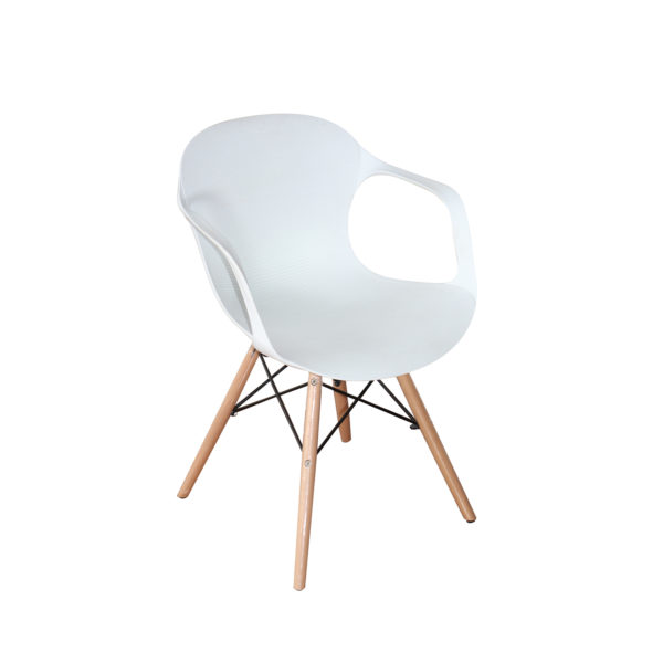 Sheri Casual Chair White by Landford.