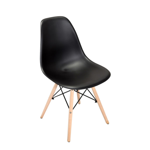 Ulrich Cafe Chair Black by Skye Interio