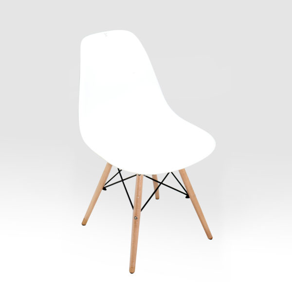 Ulrich Cafe Chair White by Skye Interio