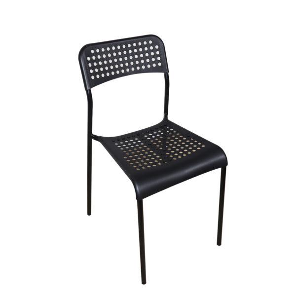 Doppler Black Chair by Skye Interio.