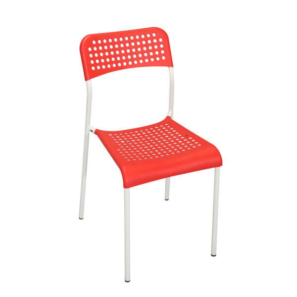 Doppler Red Chair by Skye Interio.