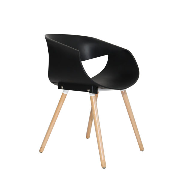 Tyler Casual Chair Black by Langford.