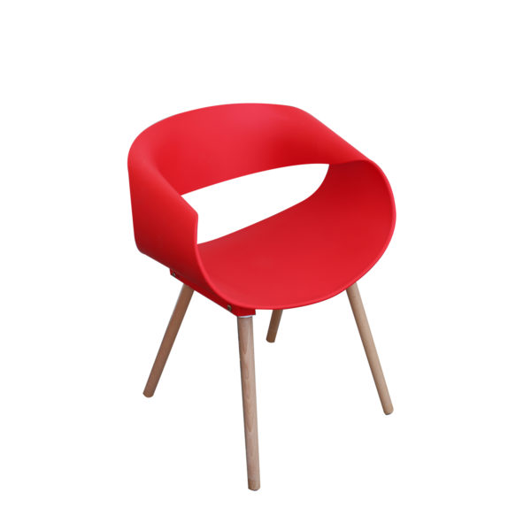 Tyler Casual Chair Red by Langford.