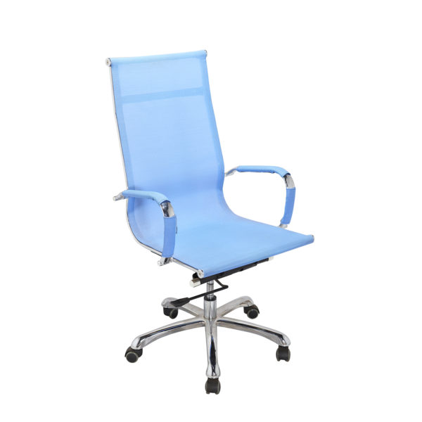 Dong High Back Revolving Chair Blue by Offx