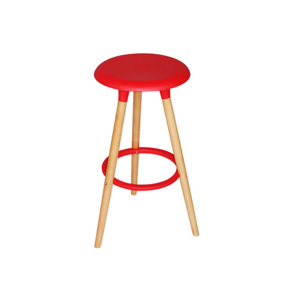 Jaden Counter Stool Red by Landlord