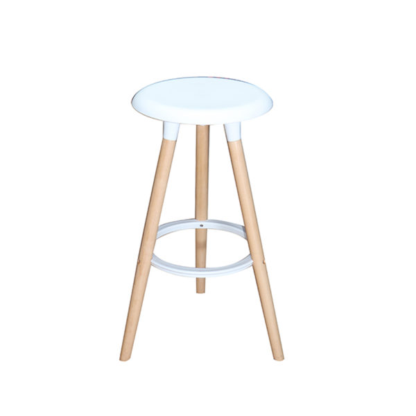 Jaden Counter Stool White by Landlord