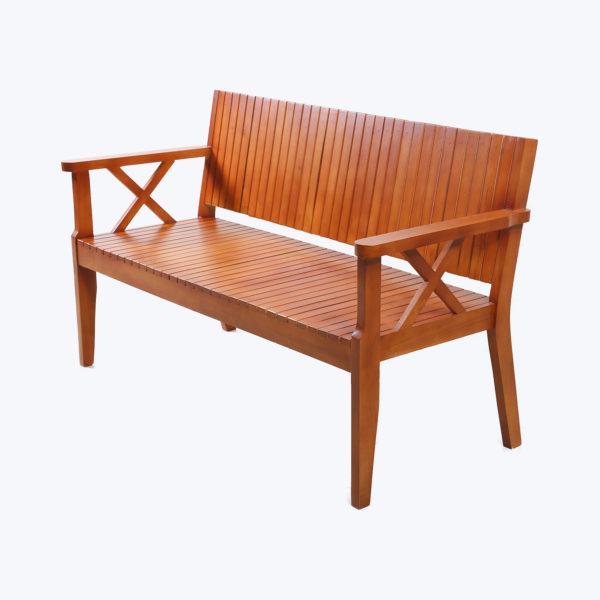 Natura 3-Seater bench Teak Wood.