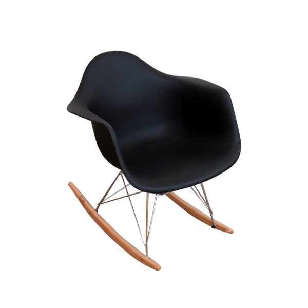 Helge Rocking Chair Black by Arct