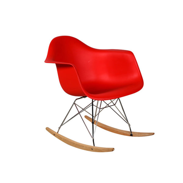 Helge Rocking Chair Red by Arct