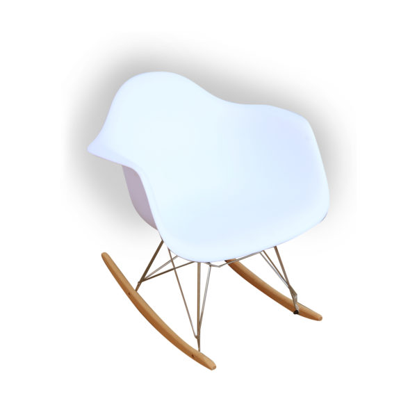 Helge Rocking Chair White by Arct