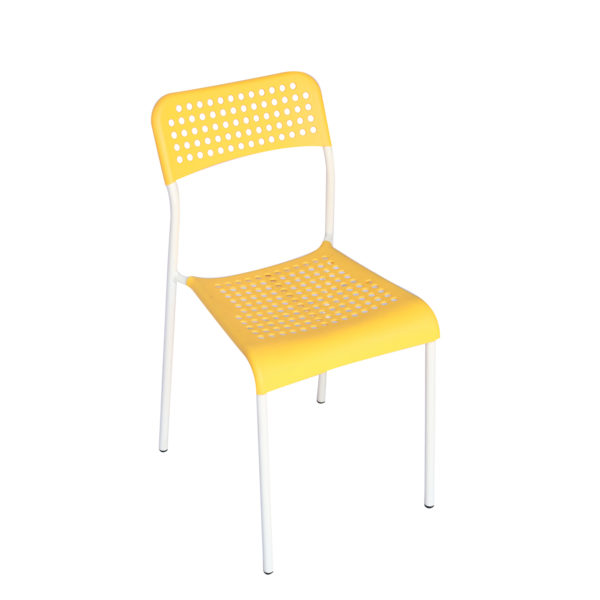 Doppler Yellow Chair by Skye Interio.