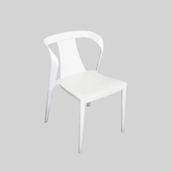 Sera Casual Chair White by Arct.