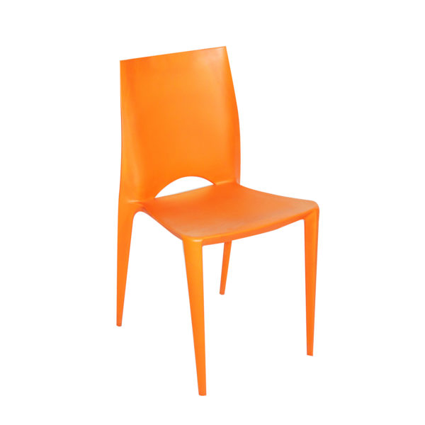 Ines Cafe Chair Orange