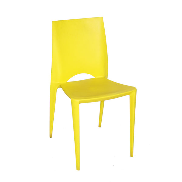 Ines Cafe Chair Yellow