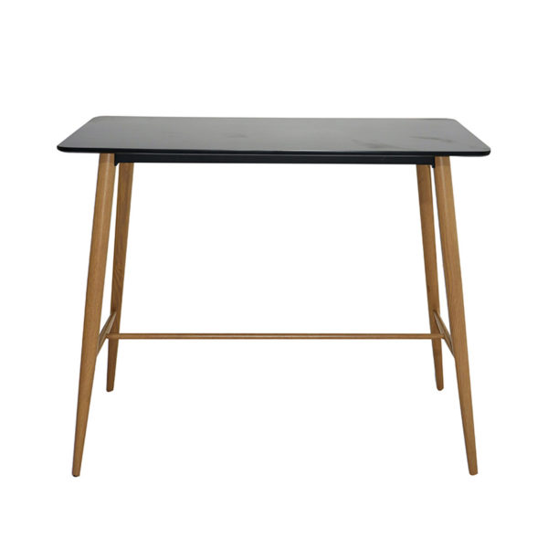 Zuku Counter Table Black by Skye Interio.