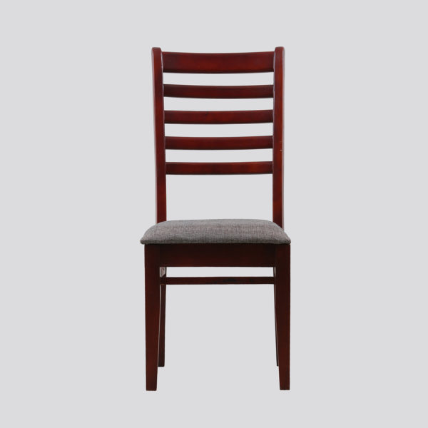 Schill Dining Chair Teakwood by Neel Furniture