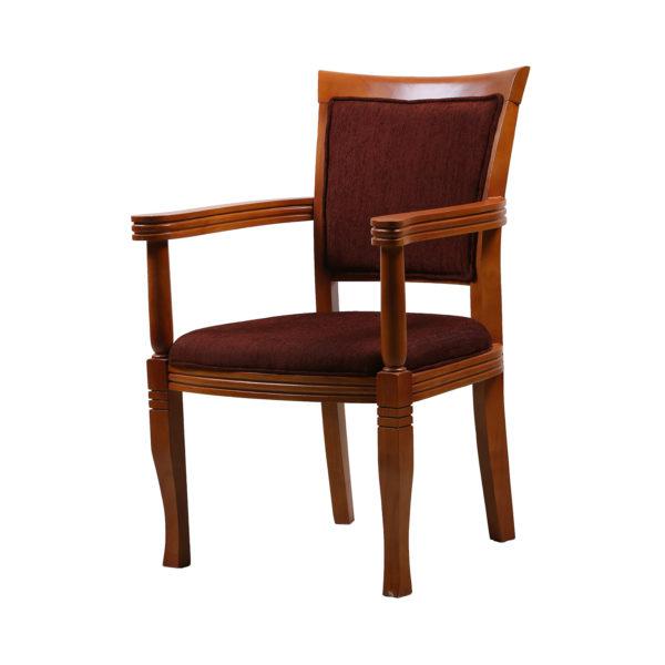Celib Mahogany Arm Chair by Neel Furniture