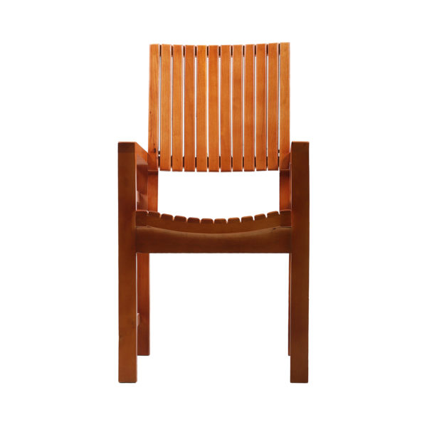Rity Mahogany Arm Chair by Neel Furniture