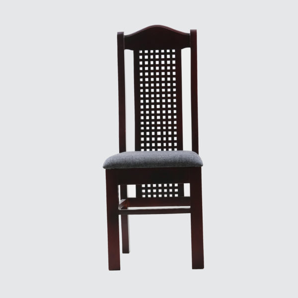 Uzo Dining Chair Teak wood by Neel Furniture