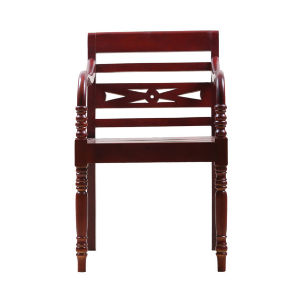 Tradi Mahogany Arm Chair by Neel Furniture