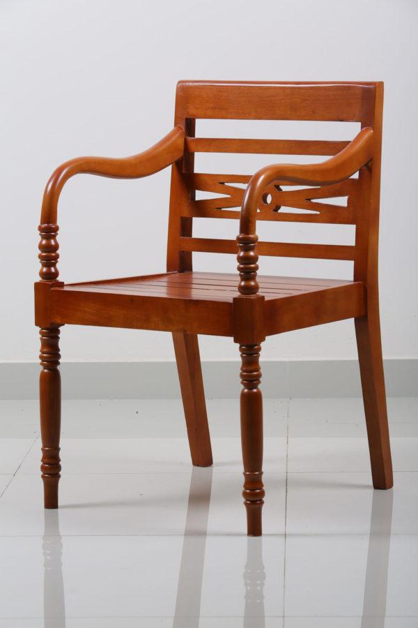 Tradi Teakwood Arm Chair by Neel Furniture