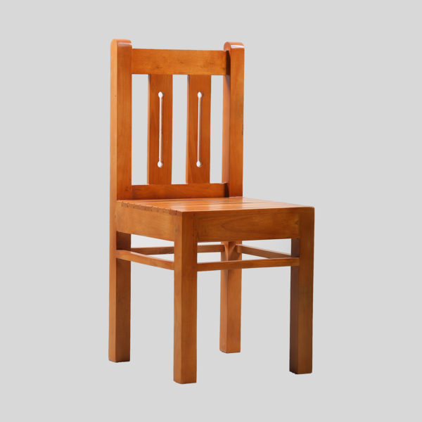 Gilli Dining Chair Mahogany wood by Neel Furniture