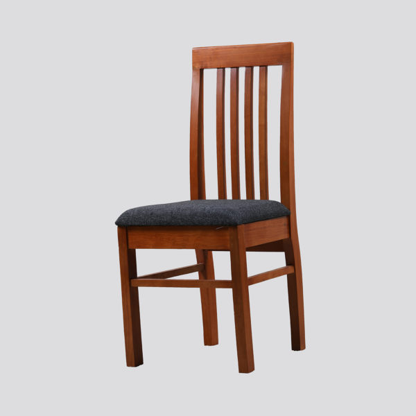 Milborn Dining Chair Mahogany Wood by Neel Furniture