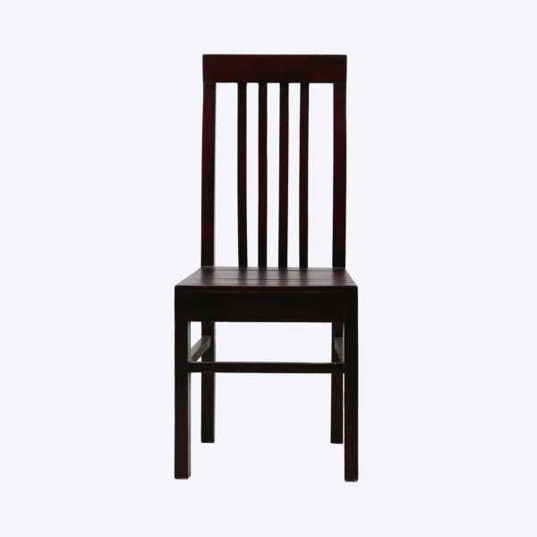 Milborn II Dining Chair Mahogany Wood by Neel Furniture