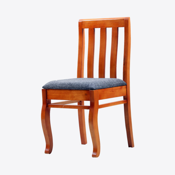 Otis Dining Chair Mahogany Wood by Neel Furniture
