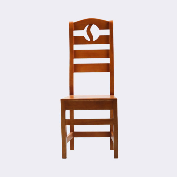 Aimee Dining Chair Mahogany Wood by Neel Furniture