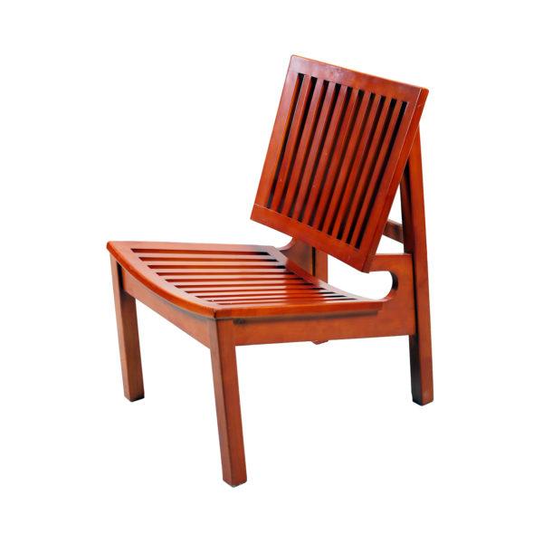 Slopy Teakwood Chair by Neel Furniture
