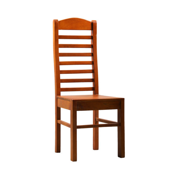 Lily Dining Chair Teak Wood by Nache Woods.