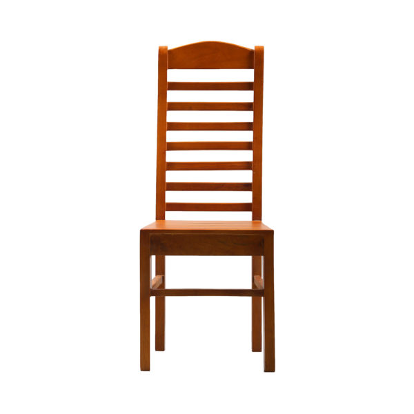 Lily Dining Chair Mahogany Wood by Nache Woods.