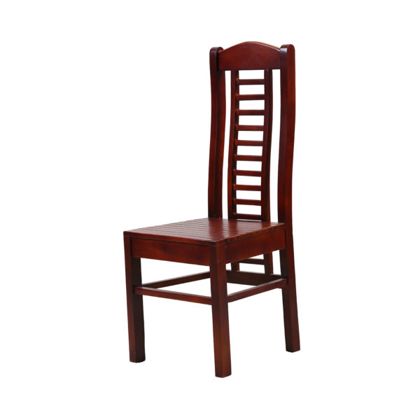 Aglee Dining Chair Mahogany Wood by Nache Woods.